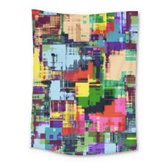 Color Abstract Background Textures Medium Tapestry