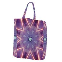 Abstract Glow Kaleidoscopic Light Giant Grocery Tote