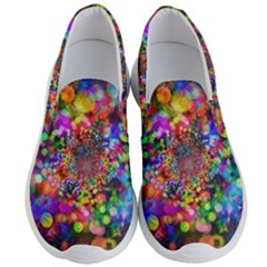 Background Color Pattern Structure Men s Lightweight Slip Ons
