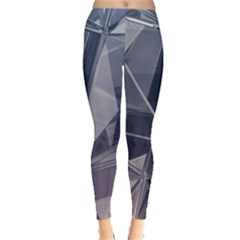 Abstract Background Abstract Minimal Leggings