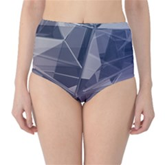 Abstract Background Abstract Minimal Classic High-waist Bikini Bottoms by Nexatart