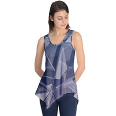 Abstract Background Abstract Minimal Sleeveless Tunic by Nexatart