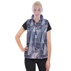Abstract Background Abstract Minimal Women s Button Up Vest