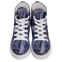 Abstract Background Abstract Minimal Women s Hi Top Skate Sneakers