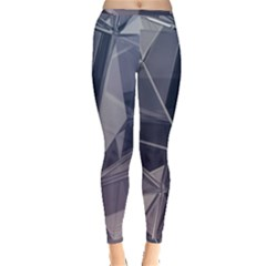 Abstract Background Abstract Minimal Inside Out Leggings