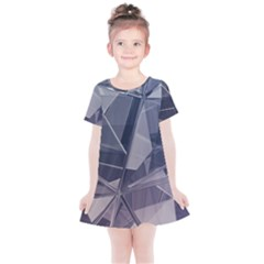 Abstract Background Abstract Minimal Kids  Simple Cotton Dress
