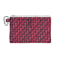 Fabric Pattern Desktop Textile Canvas Cosmetic Bag (medium) by Nexatart