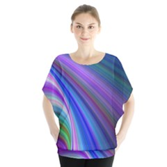 Background Abstract Curves Blouse