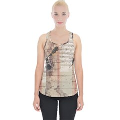 Art Collage Design Colorful Color Piece Up Tank Top