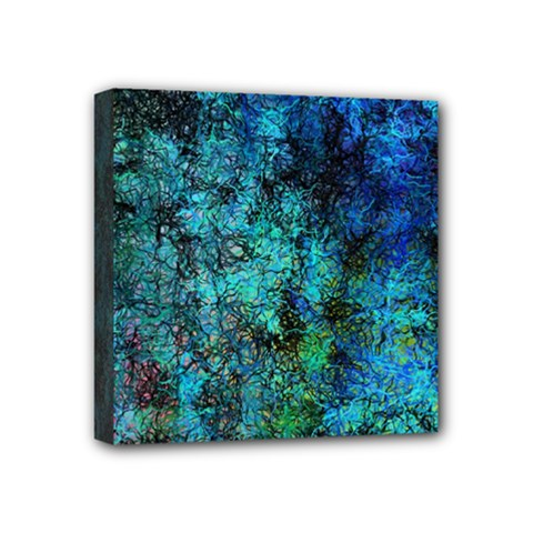 Color Abstract Background Textures Mini Canvas 4  X 4  by Nexatart