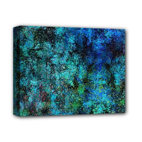 Color Abstract Background Textures Deluxe Canvas 14  X 11
