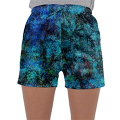 Color Abstract Background Textures Sleepwear Shorts