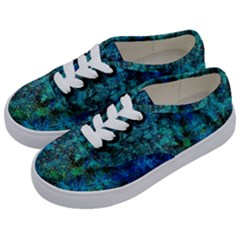 Color Abstract Background Textures Kids  Classic Low Top Sneakers by Nexatart