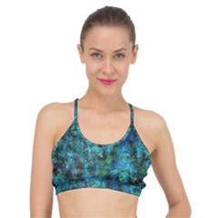 Color Abstract Background Textures Basic Training Sports Bra