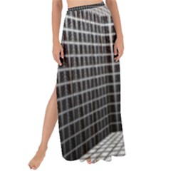 Space Glass Blocks Background Maxi Chiffon Tie Up Sarong