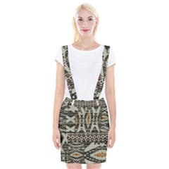 Fabric Textile Abstract Pattern Braces Suspender Skirt