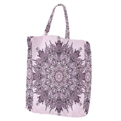 Mandala Pattern Fractal Giant Grocery Tote