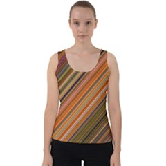 Background Texture Pattern Velvet Tank Top