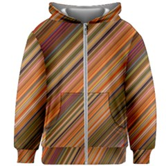 Background Texture Pattern Kids Zipper Hoodie Without Drawstring