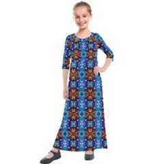 C 4 Kids  Quarter Sleeve Maxi Dress by ArtworkByPatrick1