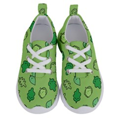 Funny Greens And Salad Running Shoes by Mishacat