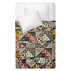 Patchwork Pattern Duvet Cover Double Side (single Size)