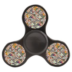 Patchwork Pattern Finger Spinner by bywhacky