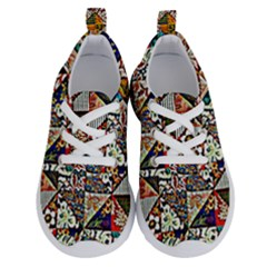 Patchwork Pattern Running Shoes by bywhacky