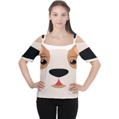 Dog Animal Boxer Family House Pet Cutout Shoulder Tee