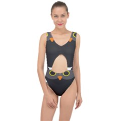 Sowa Owls Bird Wild Birds Pen Center Cut Out Swimsuit