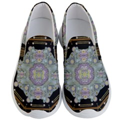 Butterflies And Flowers A In Romantic Universe Men s Lightweight Slip Ons by pepitasart