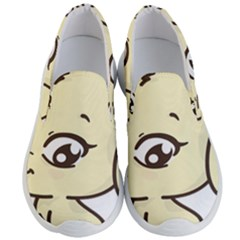 Doggy Dog Puppy Animal Pet Figure Men s Lightweight Slip Ons by Sapixe