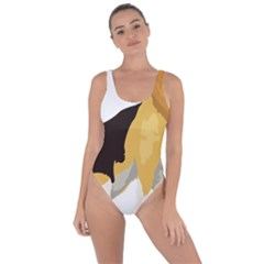 Black Yellow Dog Beagle Pet Bring Sexy Back Swimsuit by Sapixe