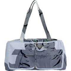 Cat Kitty Gray Tiger Tabby Pet Multi Function Bag