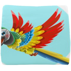Parrot Animal Bird Wild Zoo Fauna Seat Cushion