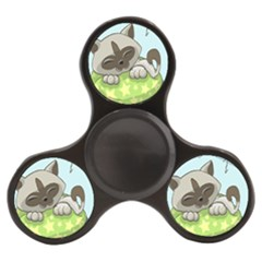 Kitten Kitty Cat Sleeping Sleep Finger Spinner by Sapixe