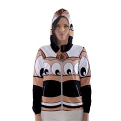 Doh Puppy Happy Pet Hound Animal Hooded Windbreaker (women)