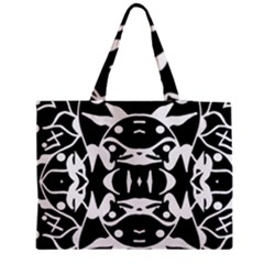 Pirate Society  Zipper Medium Tote Bag by MRTACPANS