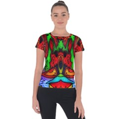 Faces Short Sleeve Sports Top