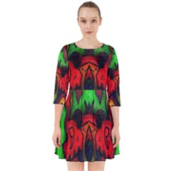 Faces Smock Dress