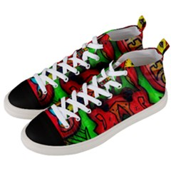 Faces Men s Mid-Top Canvas Sneakers