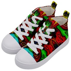 Faces Kid s Mid-Top Canvas Sneakers