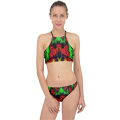 Faces Racer Front Bikini Set by MRTACPANS