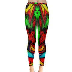 Faces Inside Out Leggings
