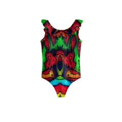 Faces Kids  Frill Swimsuit