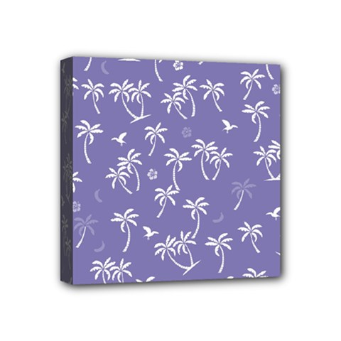 Tropical Pattern Mini Canvas 4  X 4  by Valentinaart