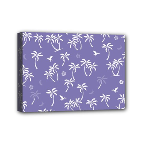 Tropical Pattern Mini Canvas 7  X 5  by Valentinaart