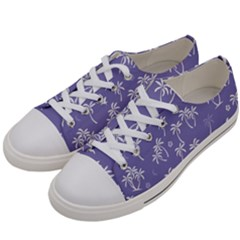 Tropical Pattern Women s Low Top Canvas Sneakers by Valentinaart
