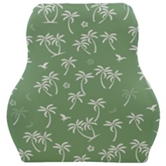 Tropical Pattern Car Seat Velour Cushion  by Valentinaart