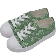 Tropical Pattern Kids  Low Top Canvas Sneakers by Valentinaart
